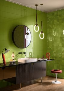 Carnaby Lime Room Setting
